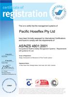 AS/NZS 4801 : 2001