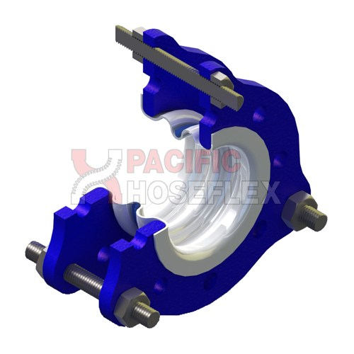 Ptfe expansion joint convoluted pacific hoseflex