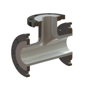 Lined Piping Systems - Tee