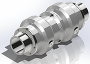 full bore breakaway coupling threaded
